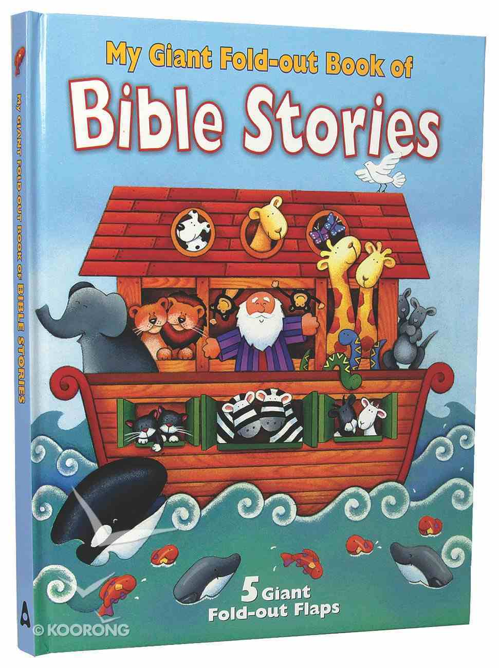 My Giant Fold Out Book of Bible Stories: Noah Board Book