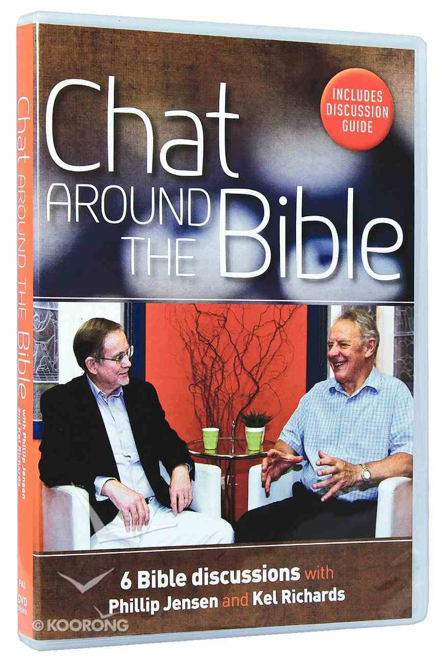Chat Around the Bible (Includes Discussion Guide) Dvd-rom