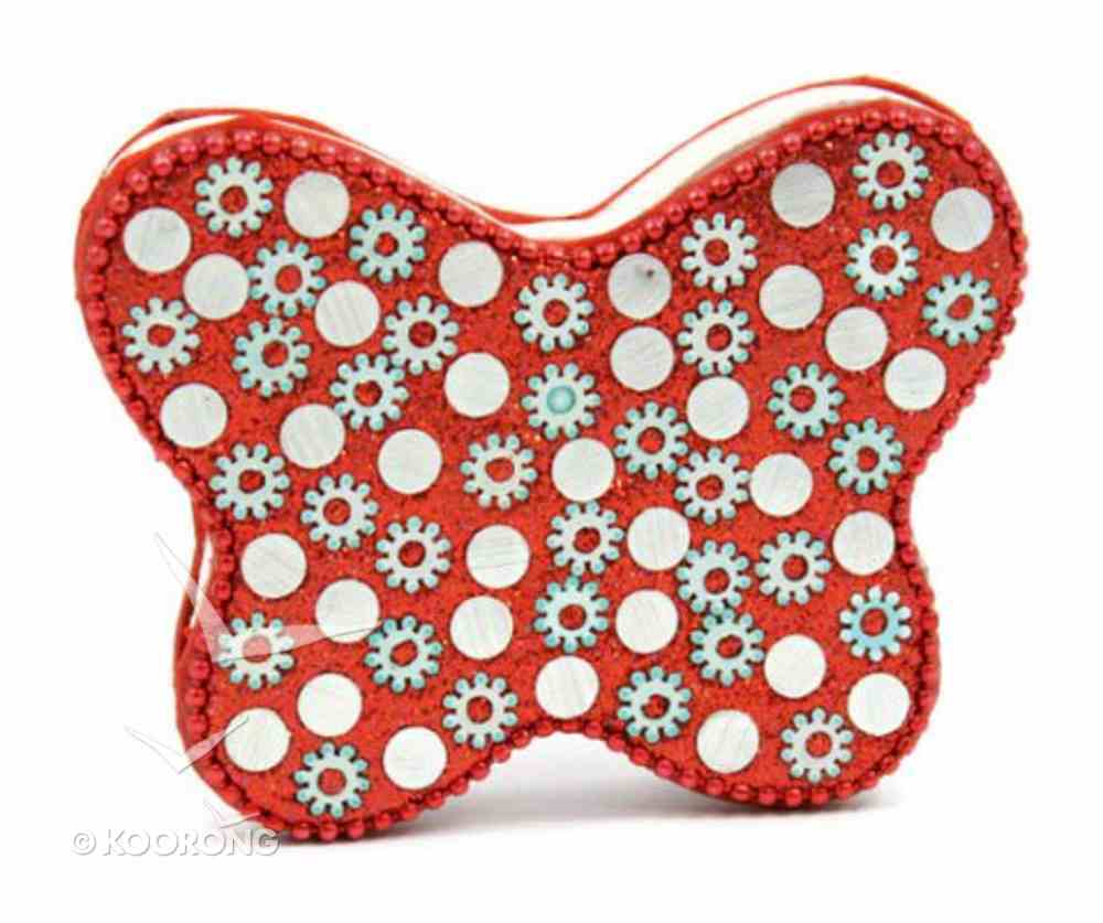 Note Pad Butterfly Red (Empowering The Poor Series) Stationery
