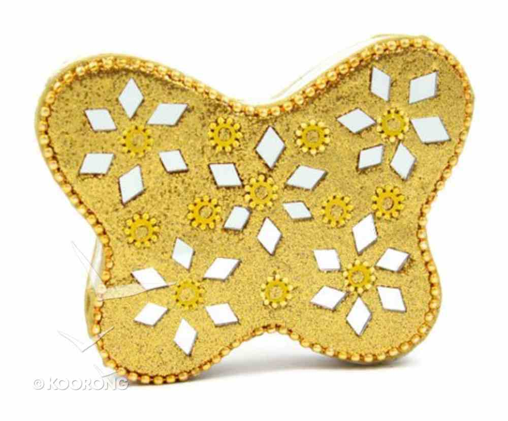 Note Pad Butterfly Gold (Empowering The Poor Series) Stationery