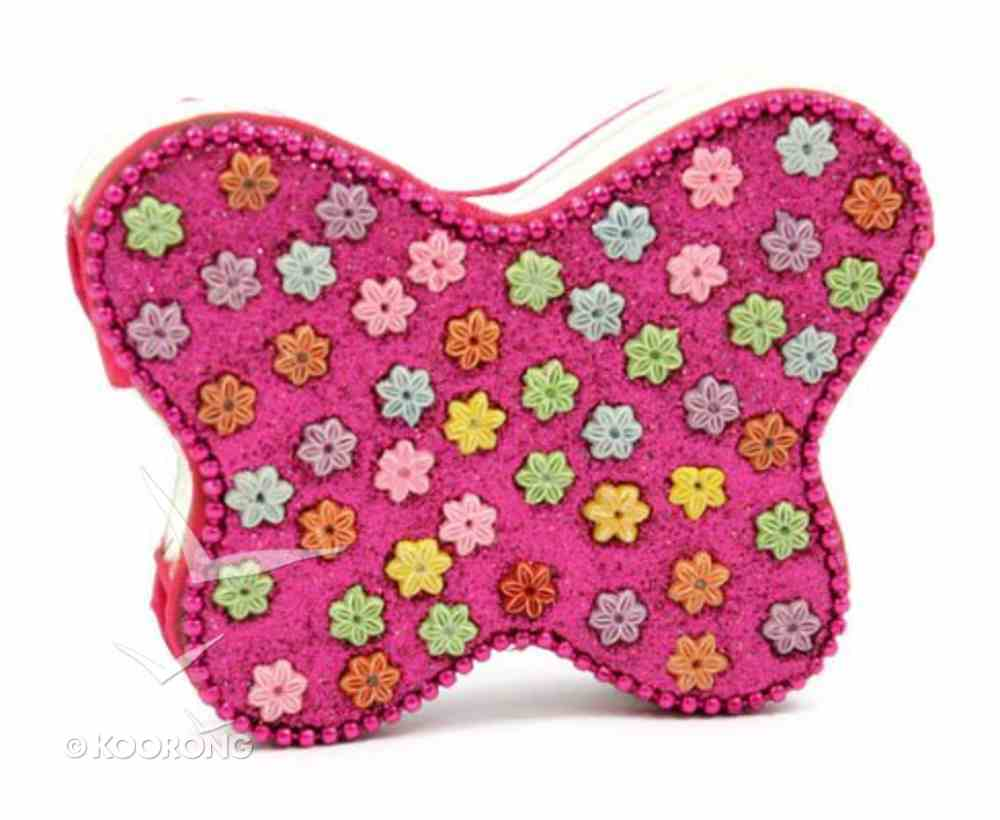 Note Pad Butterfly Pink Flowers (Empowering The Poor Series) Stationery