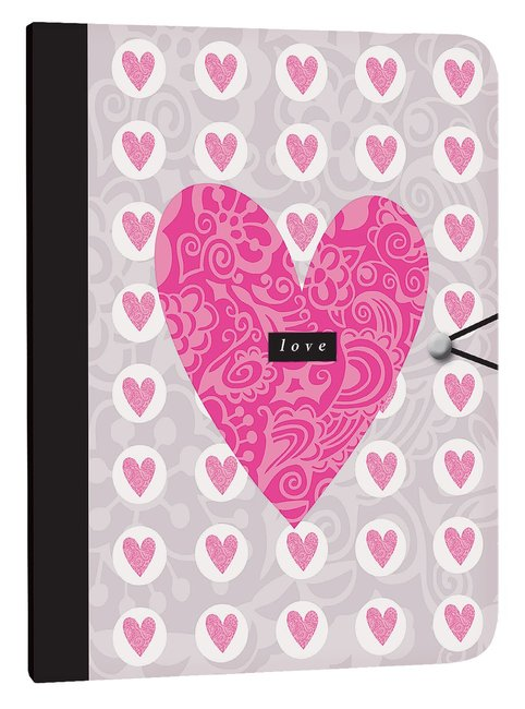 Product: Journal: Love (Hearts) Image