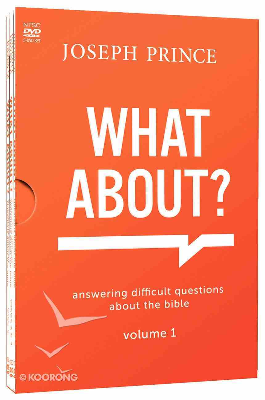 What About? #01: Answering Difficult Questions About the Bible (5 Dvds) DVD