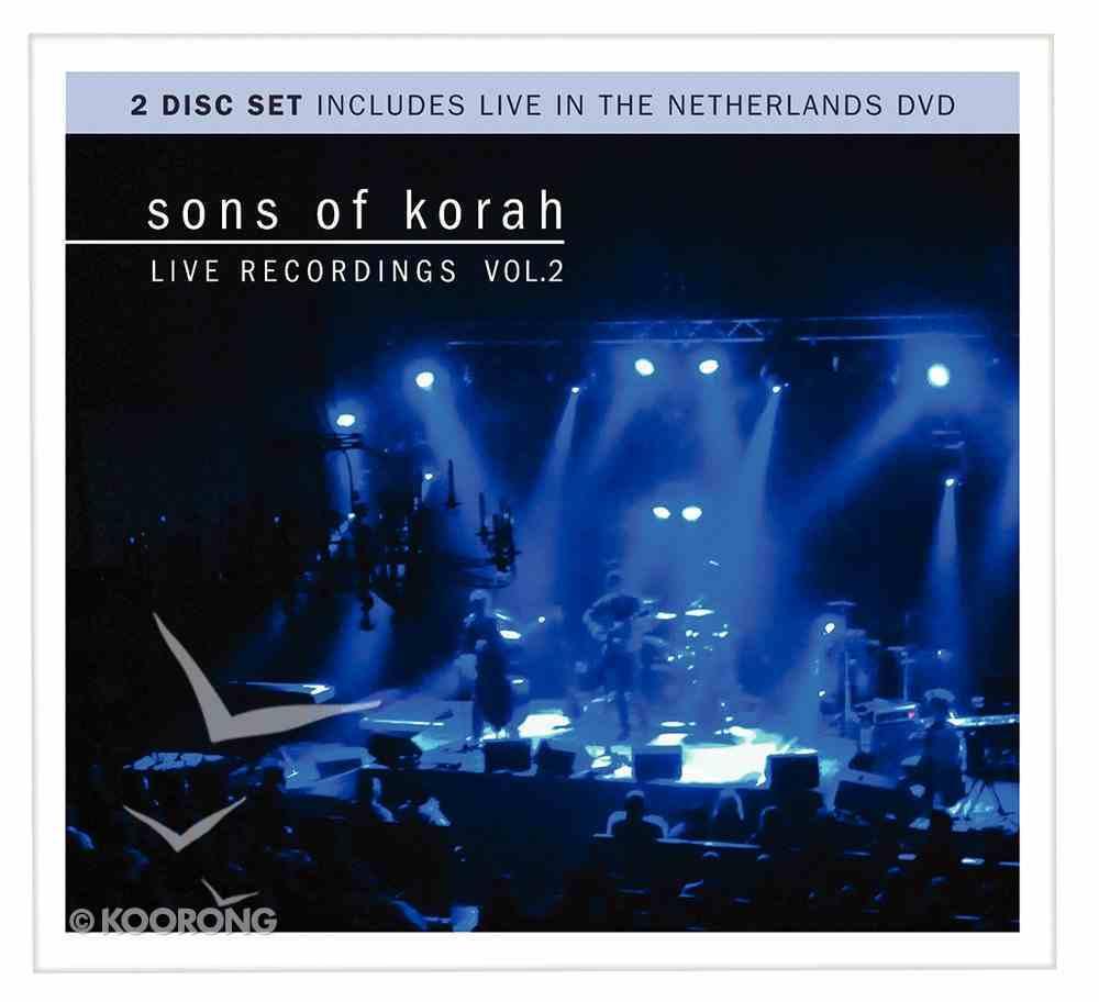 Sons of Korah: Live Recordings Vol. 2 (Cd/dvd) CD