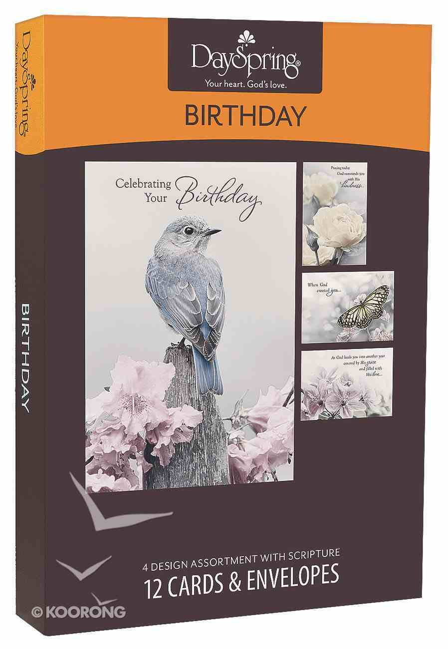 Boxed Cards Birthday: A Touch of Colour Box