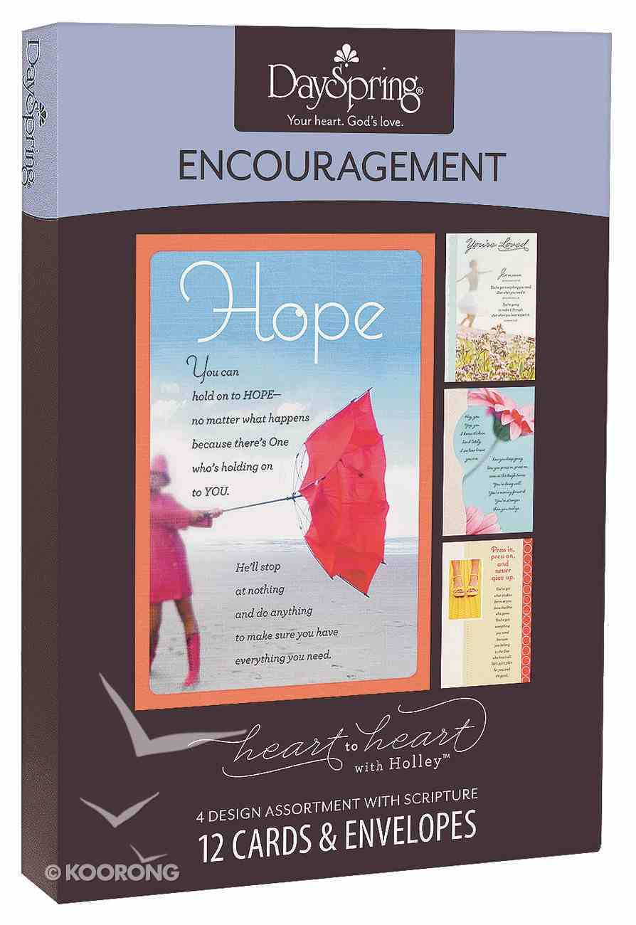 Boxed Cards Encouragement: Holley Gerth - Heart to Heart With Holley Box