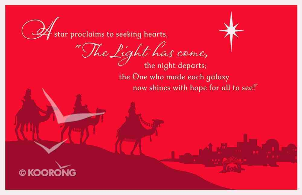 Christmas Boxed Cards: A Star Proclaims (Psalm 147:11) Box