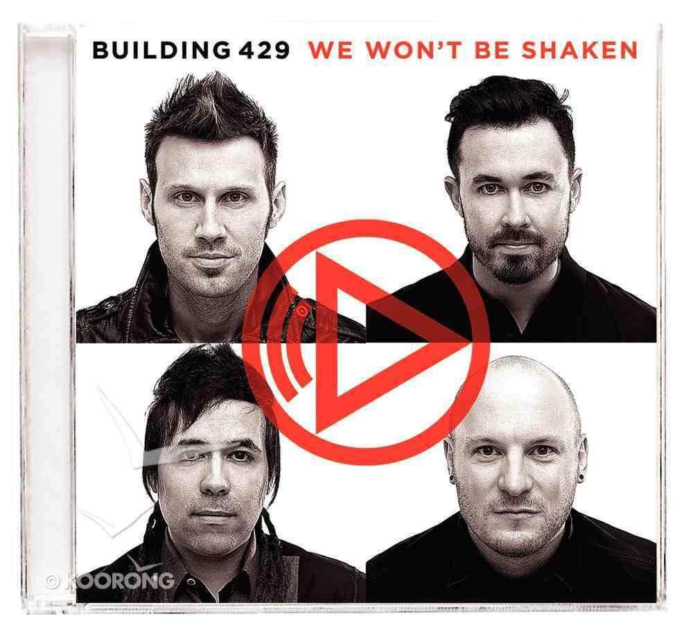We Won't Be Shaken CD