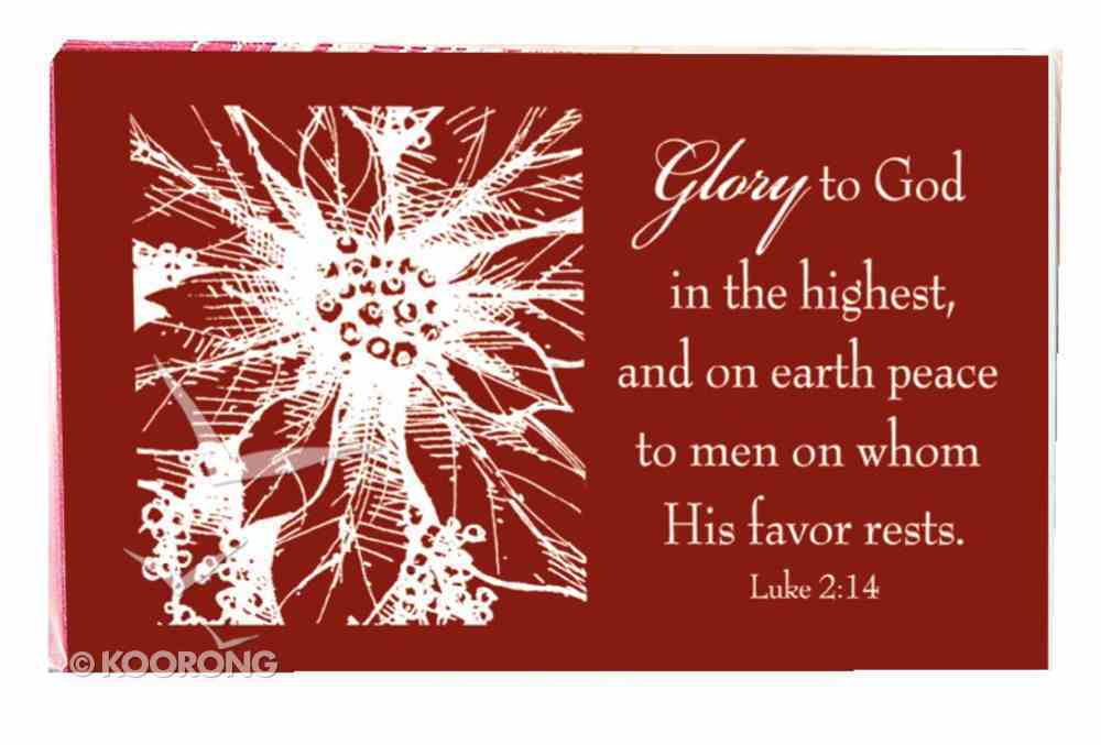 Glory to God in the Highest (7.6 X 5.1cm) (Pass It On Cards Series) Cards