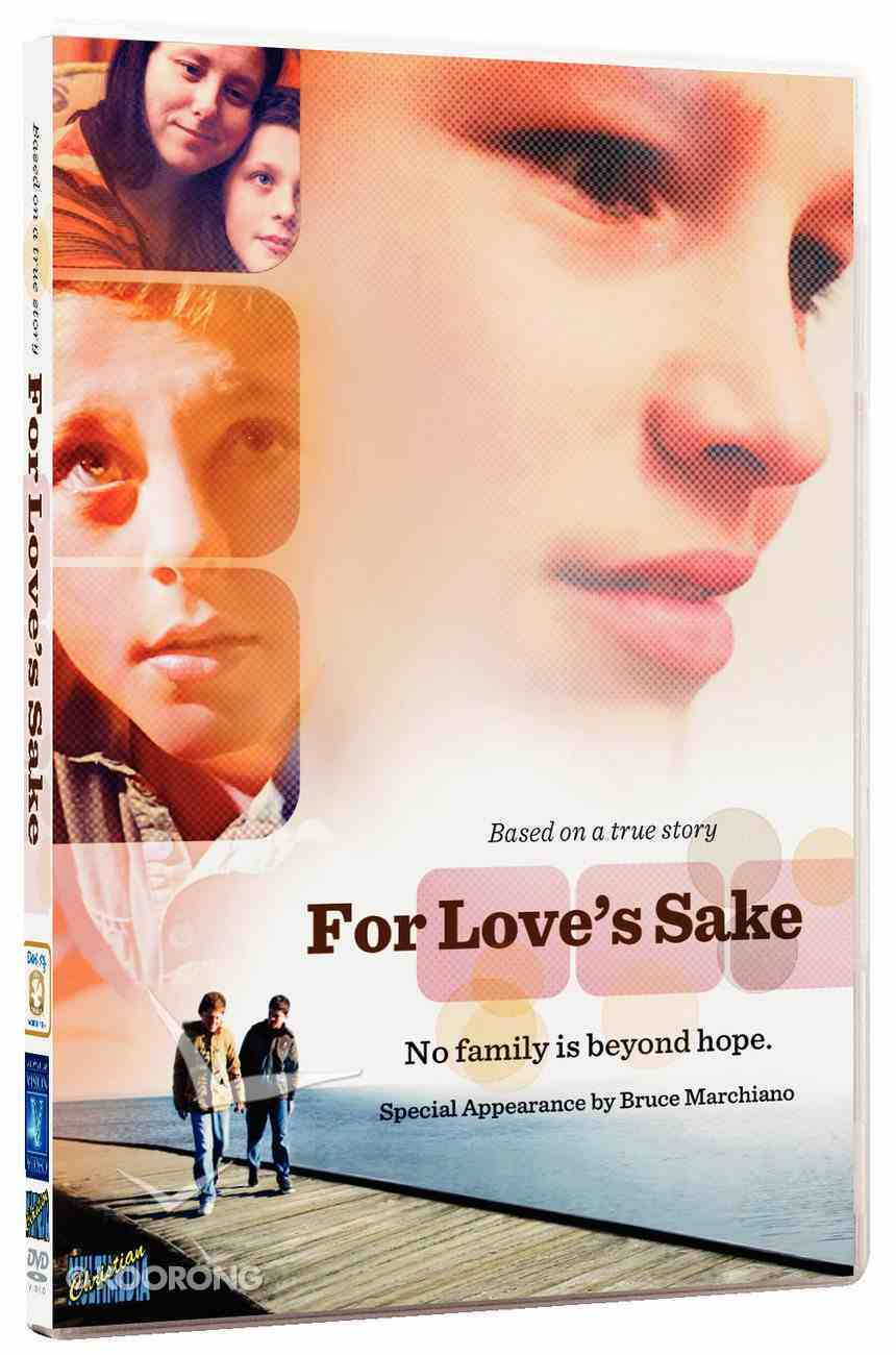 For Love's Sake DVD