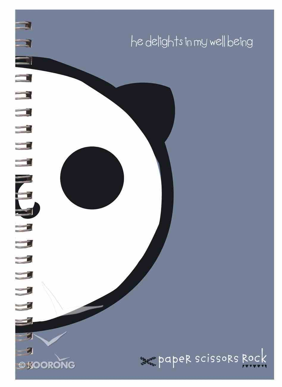Unisex Ark A6 Spiral Notepads: He Delights in My Well Being Spiral