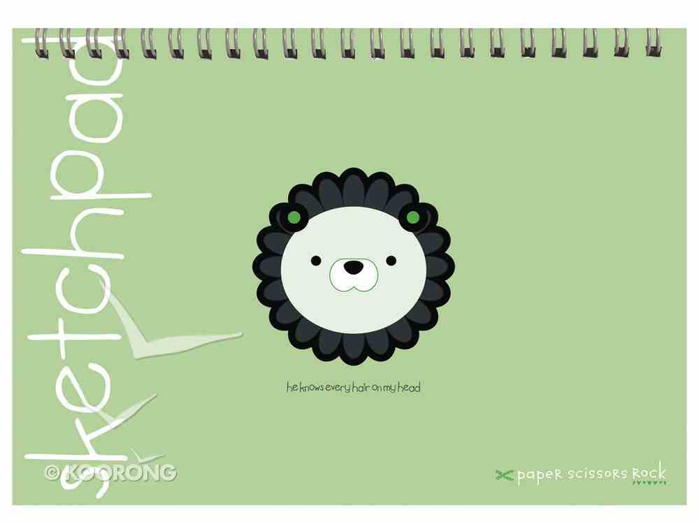 Unisex Ark A4 Spiral Sketchpad: He Knows Every Hair on My Head Spiral