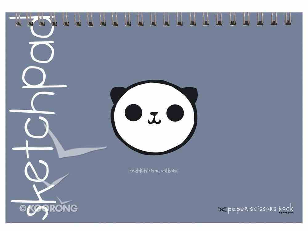 Unisex Ark A4 Spiral Sketchpad: He Delights in My Well Being Spiral