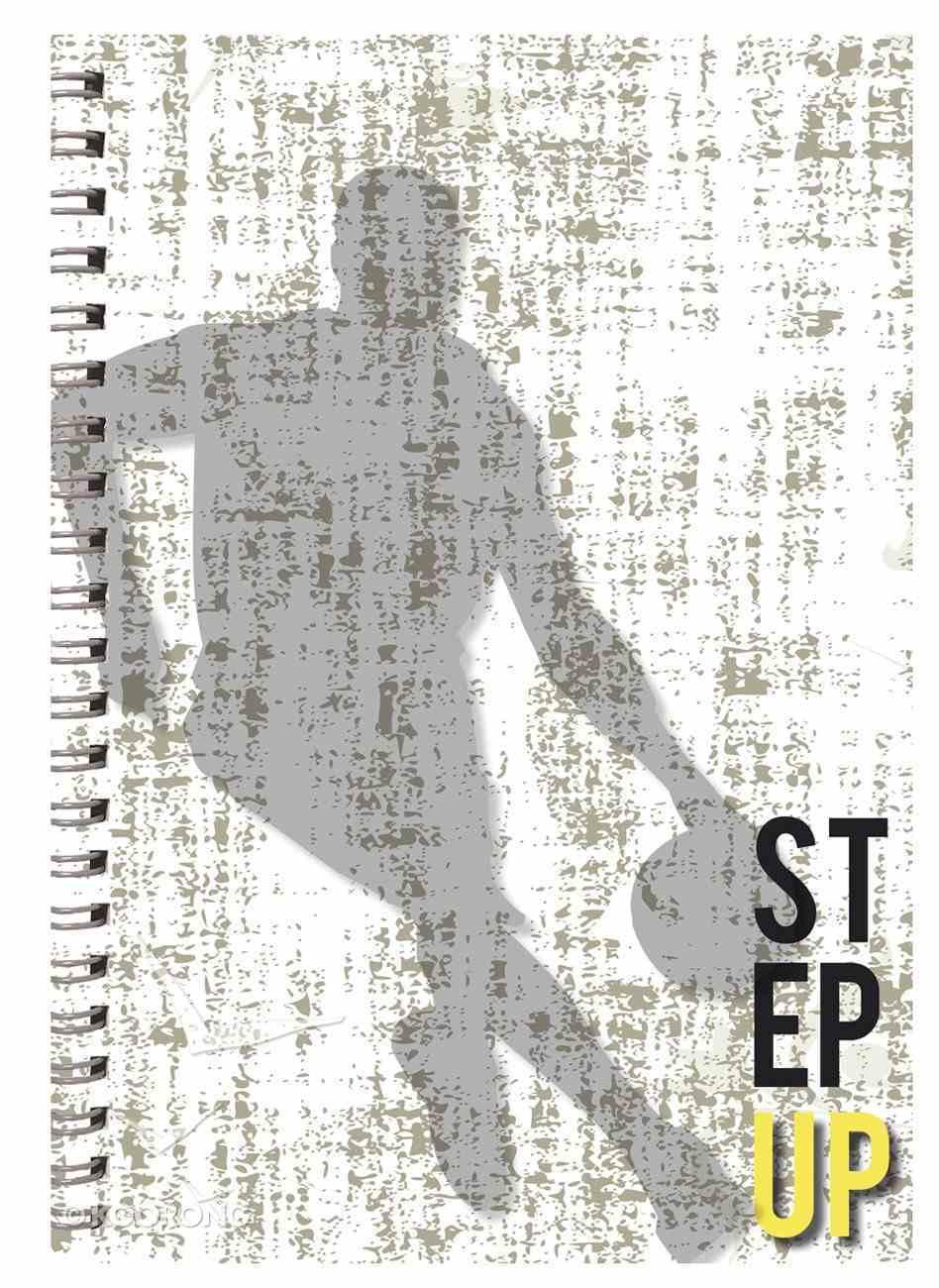 Teen Boys A4 Spiral Notepad: Step Up Spiral