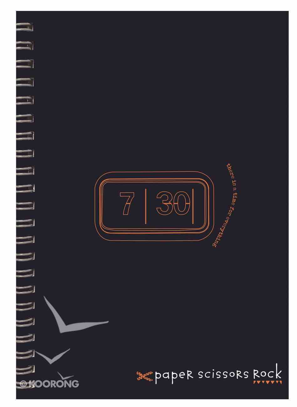 Unisex Retro A4 Spiral Notepad: There is a Time For Everything Spiral