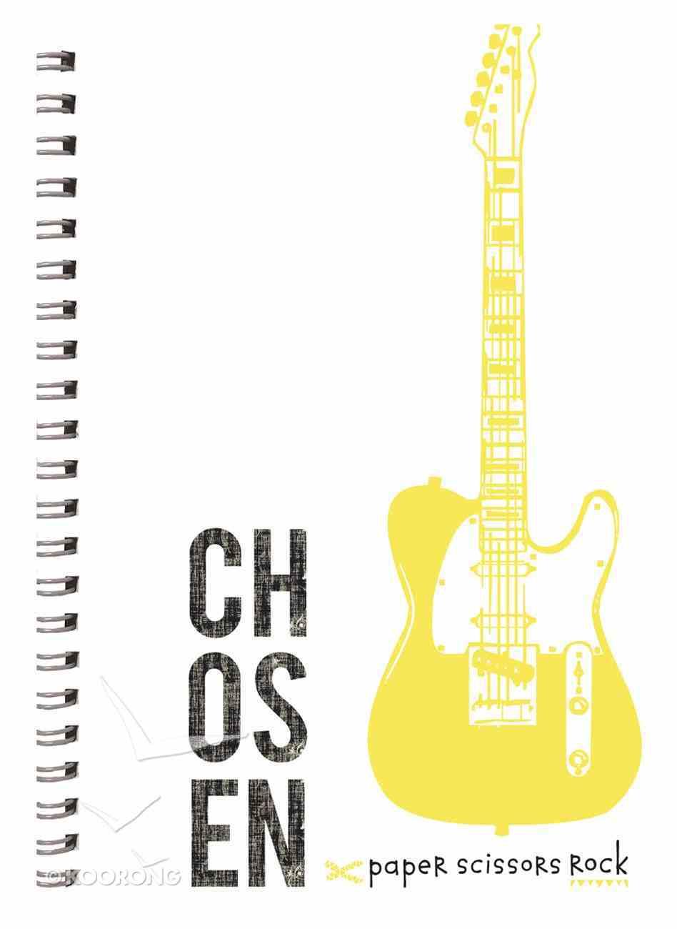 Teen Boys A6 Spiral Notepads: Chosen Spiral
