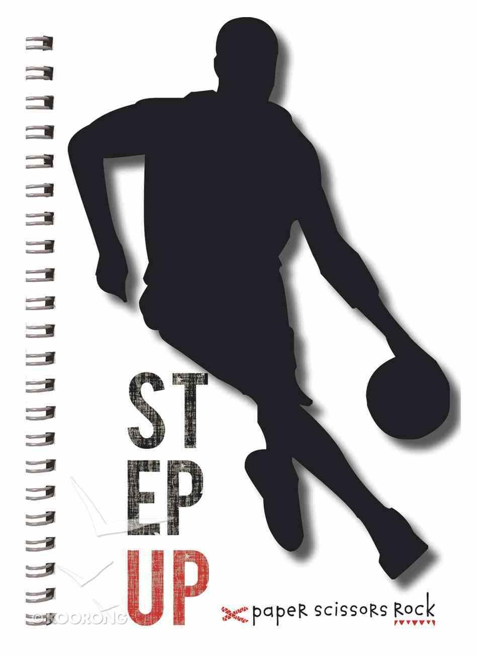 Teen Boys A6 Spiral Notepads: Step Up Spiral
