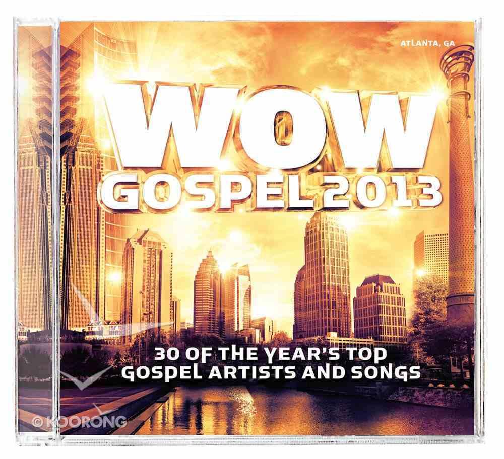 Wow Gospel 2013 Double CD CD