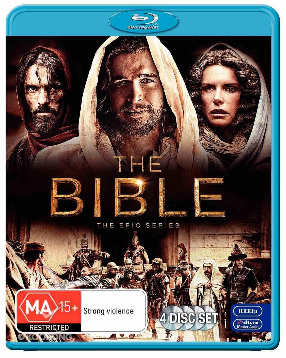 The Bible: The Epic Mini-Series (4-disc Blu-ray Set) Blu-ray Disc