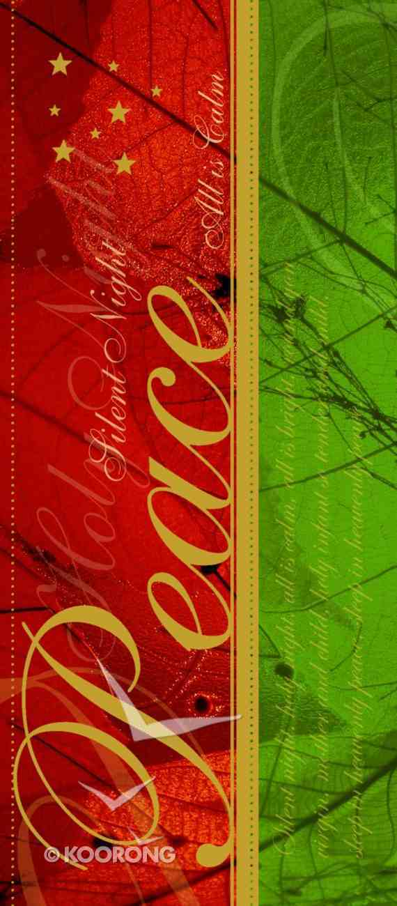 Christmas Boxed Cards: Peace Silent Night Gold Foiled Cards