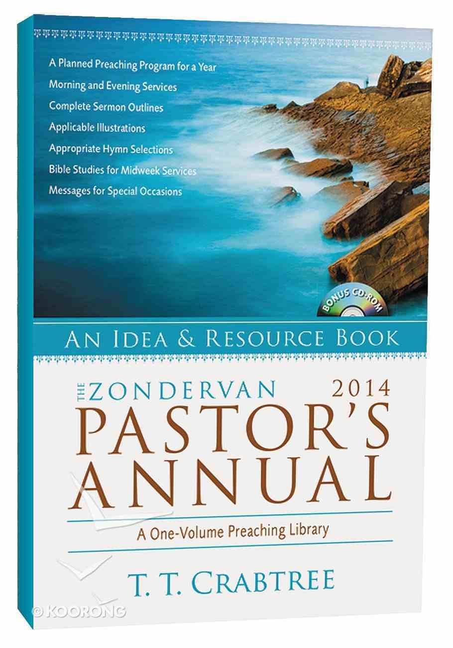 The Zondervan 2014 Pastor's Annual Paperback