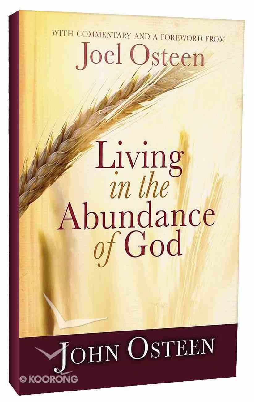 Living in the Abundance of God Paperback