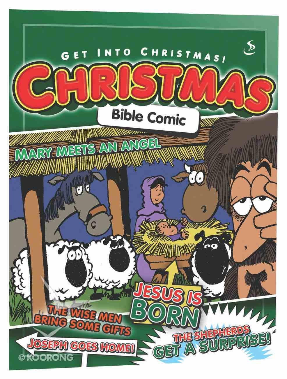 Comic Bible Christmas Paperback
