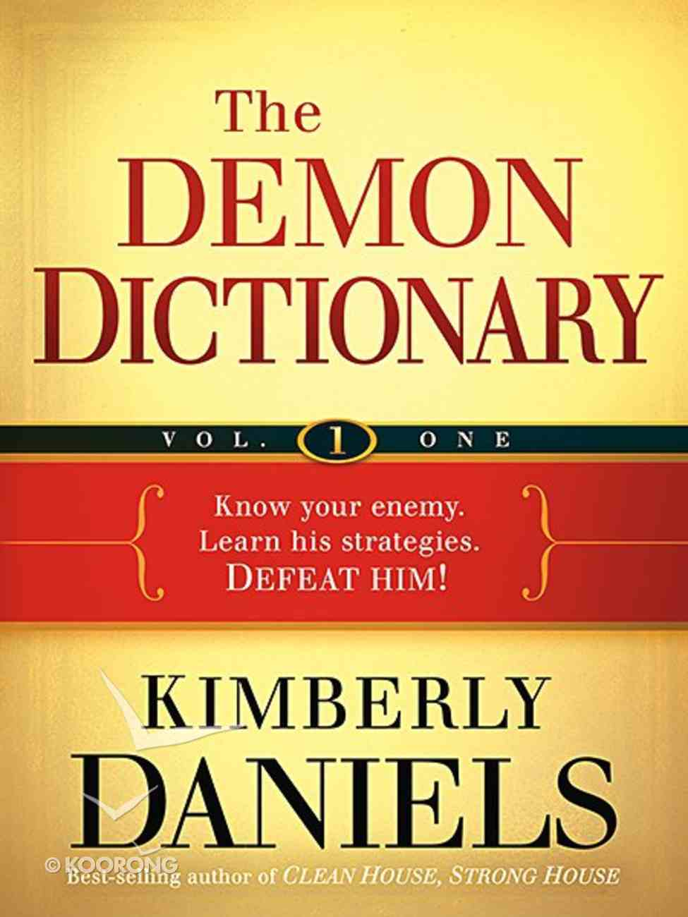 The Demon Dictionary (Volume One) Paperback