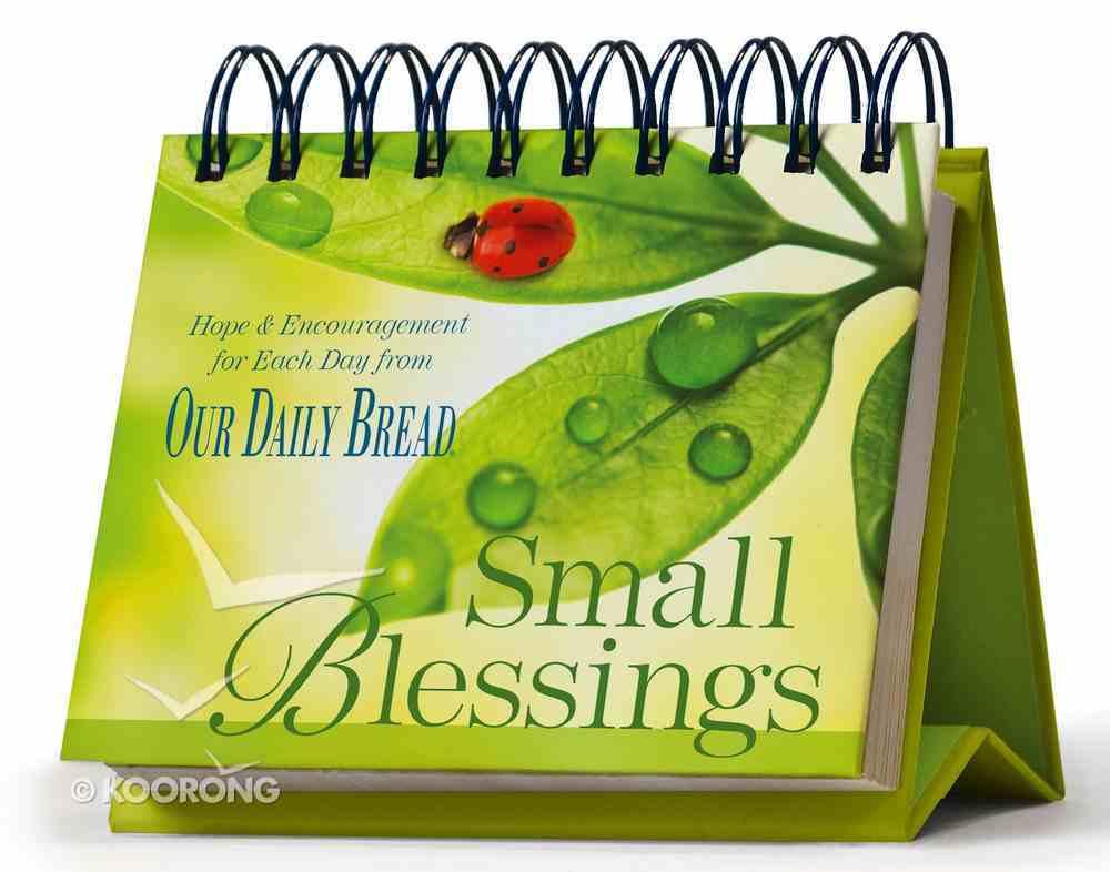366 Perpetual Calendar: Small Blessings Spiral