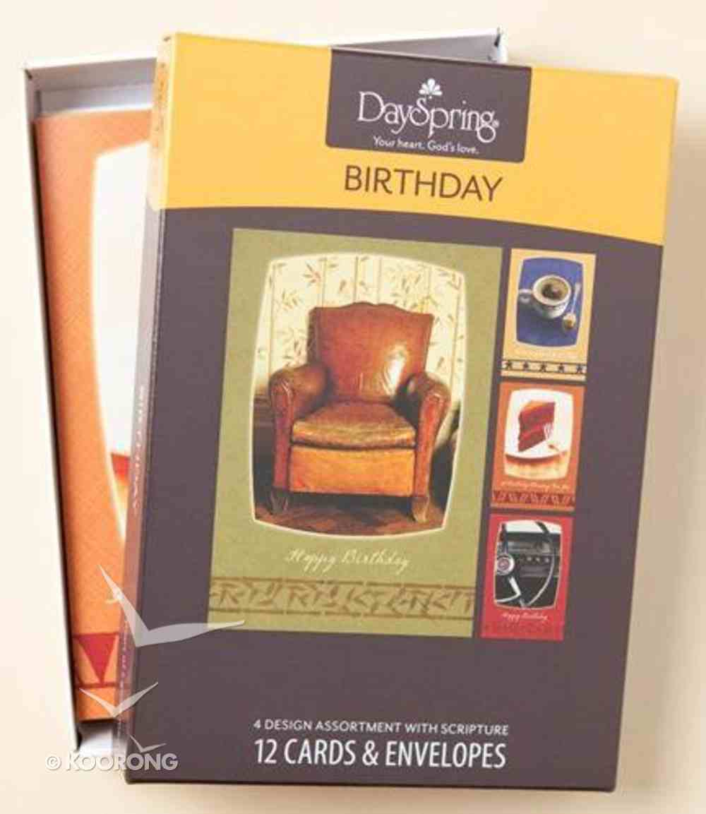 Boxed Cards Birthday: Steps Box