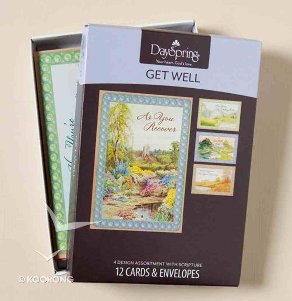 Boxed Cards Get Well: Waters of Life Box