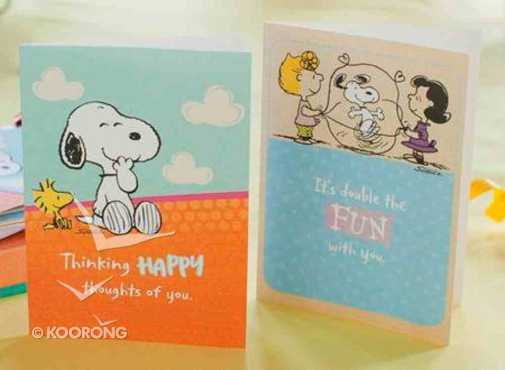 Boxed Notes: Peanuts, Ecclesiastes 11:9 Cards