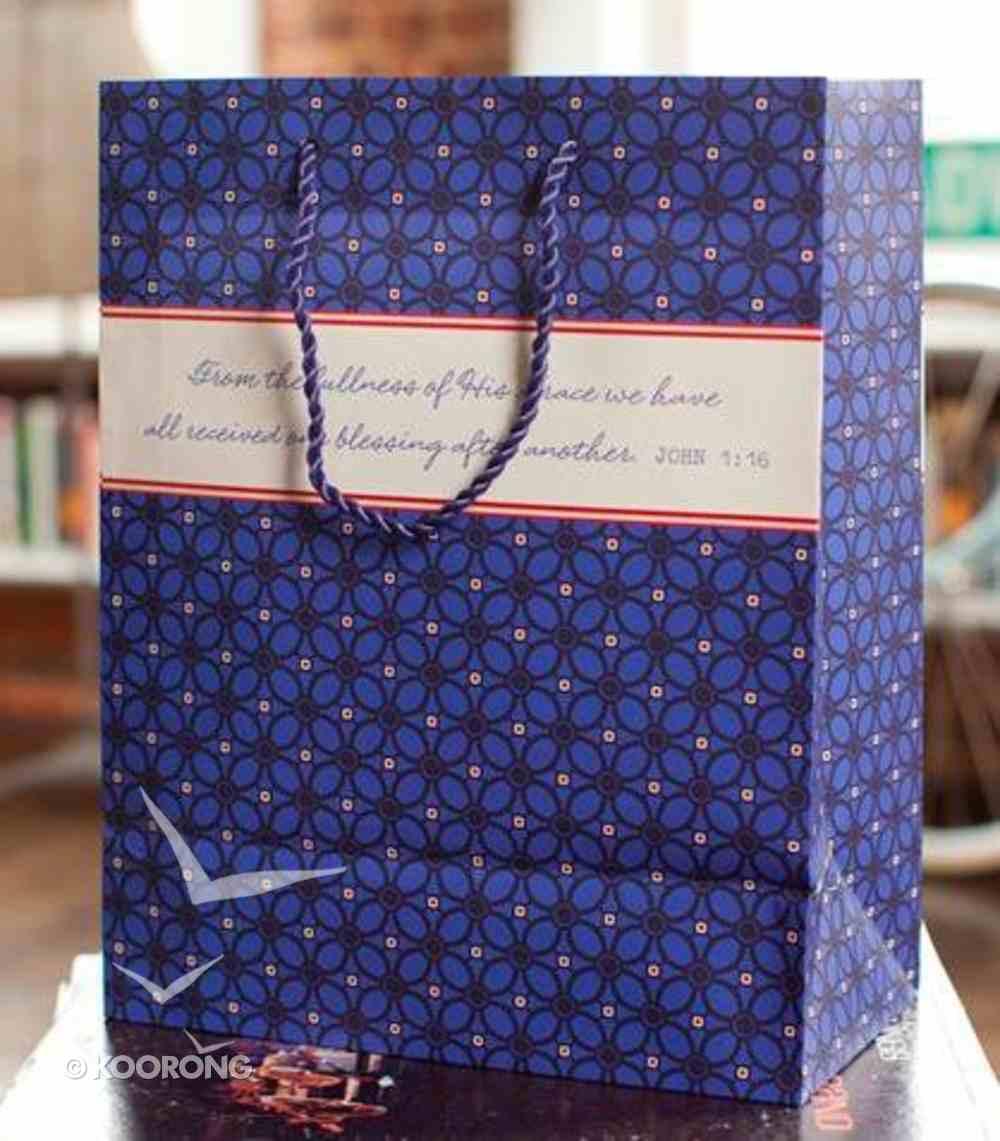 Gift Bag Large: Grace, John 1:16 Stationery