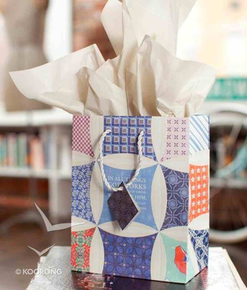 Gift Bag Medium: Redeemed (Incl Tissue Paper And Gift Tag) Stationery