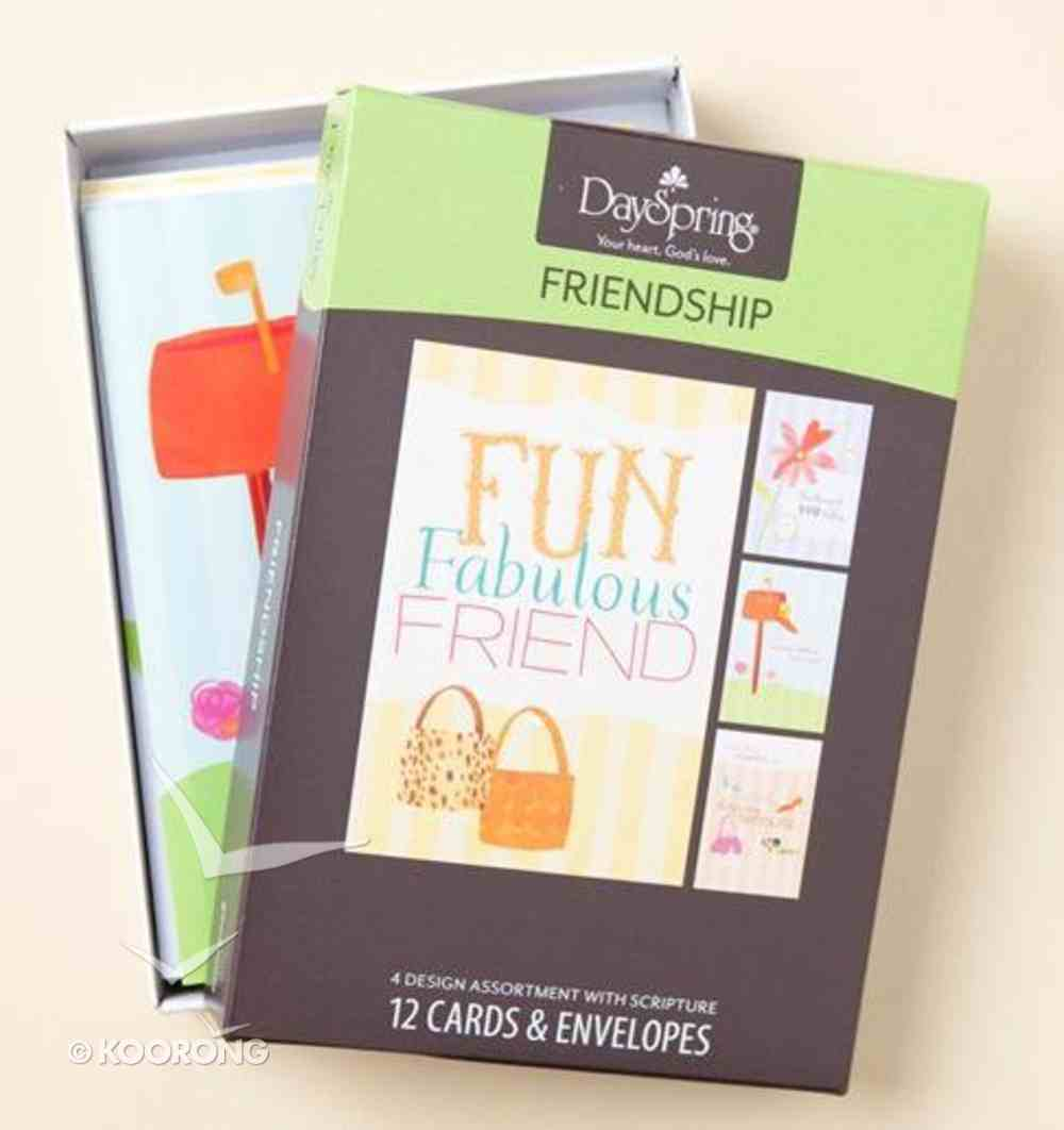 Boxed Cards Friendship: Good Times (Feminine) Box