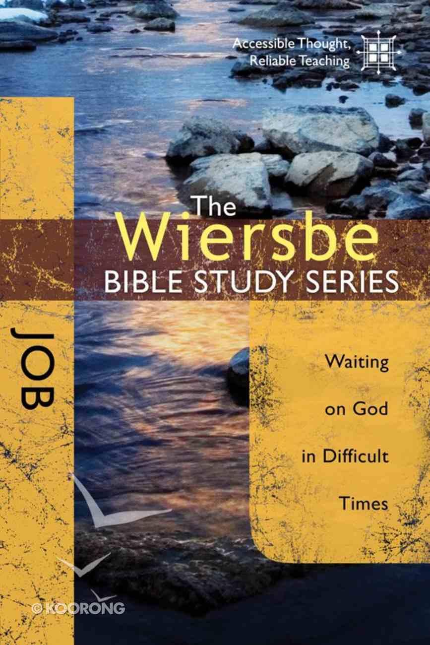 Job (Wiersbe Bible Study Series) Paperback