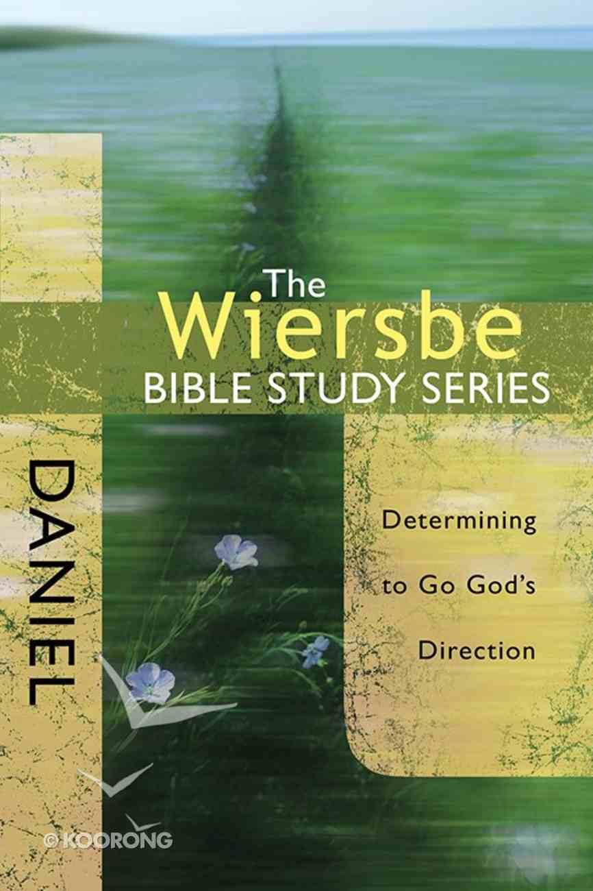 Daniel (Wiersbe Bible Study Series) Paperback
