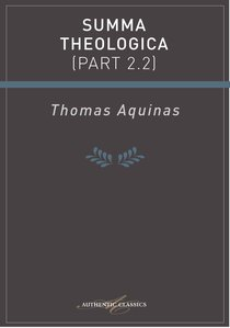 Product: Summa Theologica (Part 2.2) (Ebook) Image