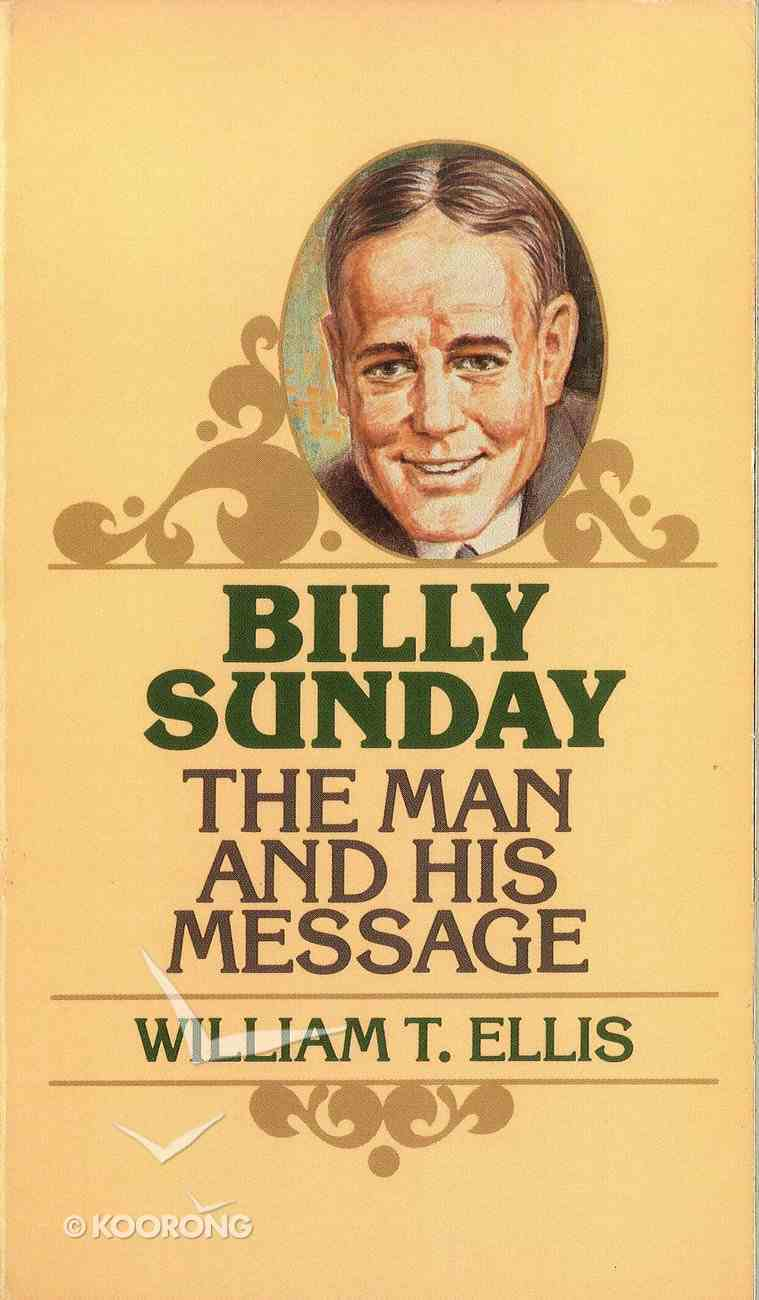 Billy Sunday Paperback