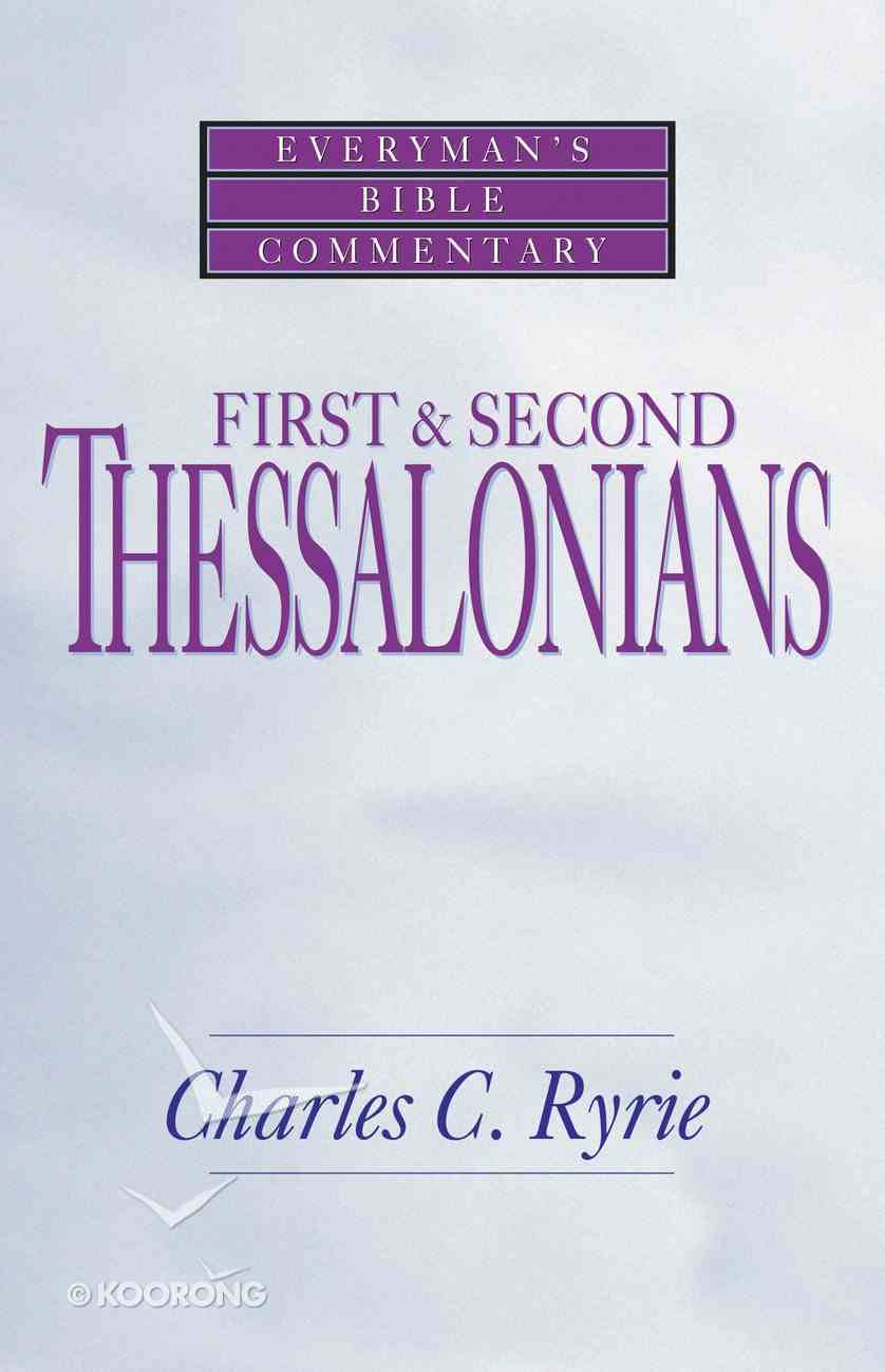 1 & 2 Thessalonians (Everyman's Bible Commentary Series) Paperback