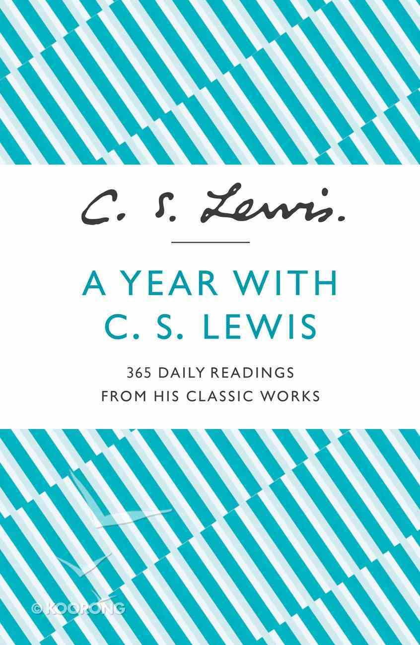 A Year With C.S. Lewis eBook