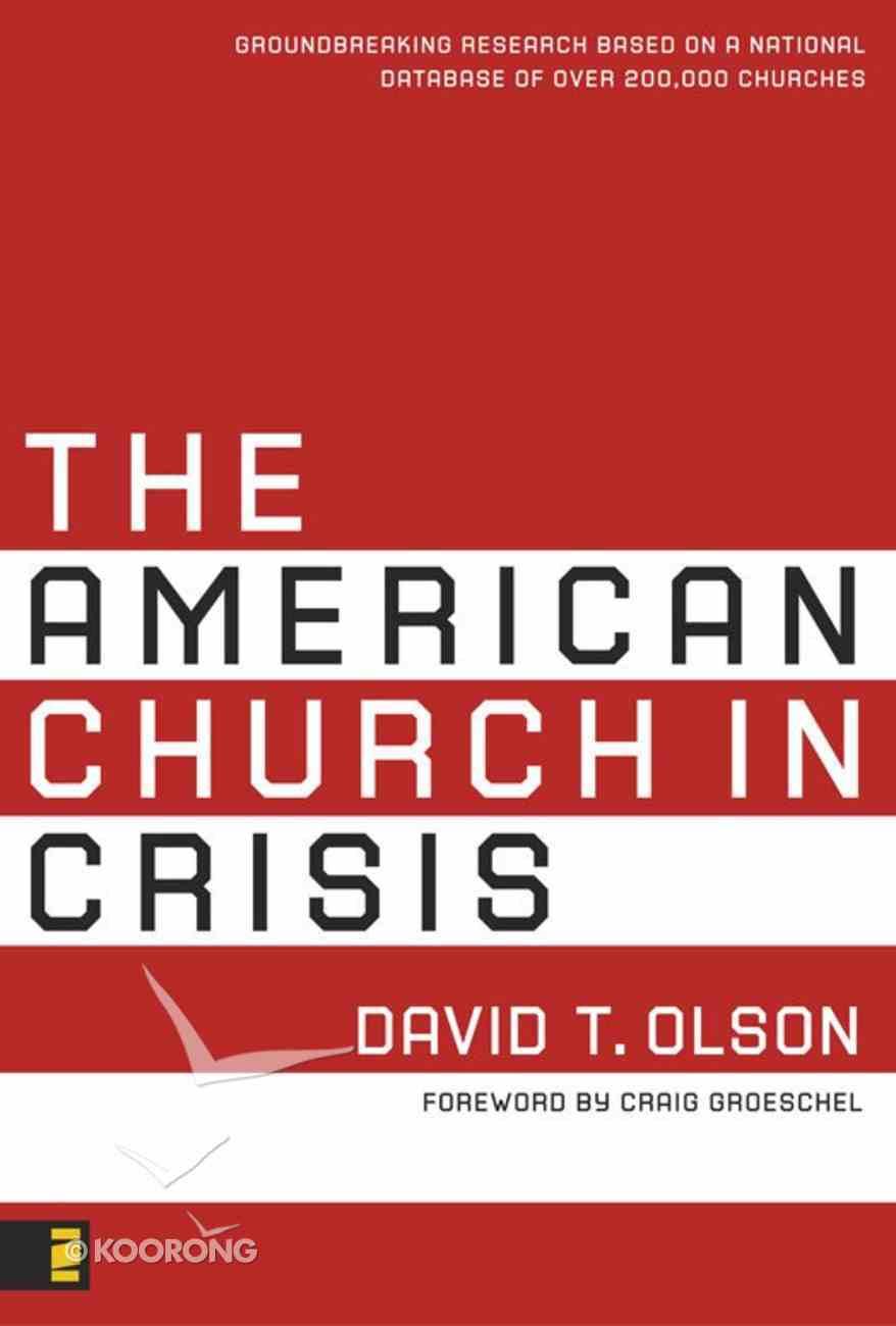The American Church in Crisis eBook