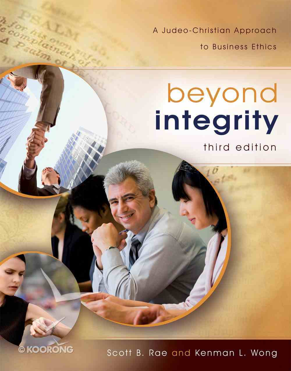 Beyond Integrity (Third Edition) eBook