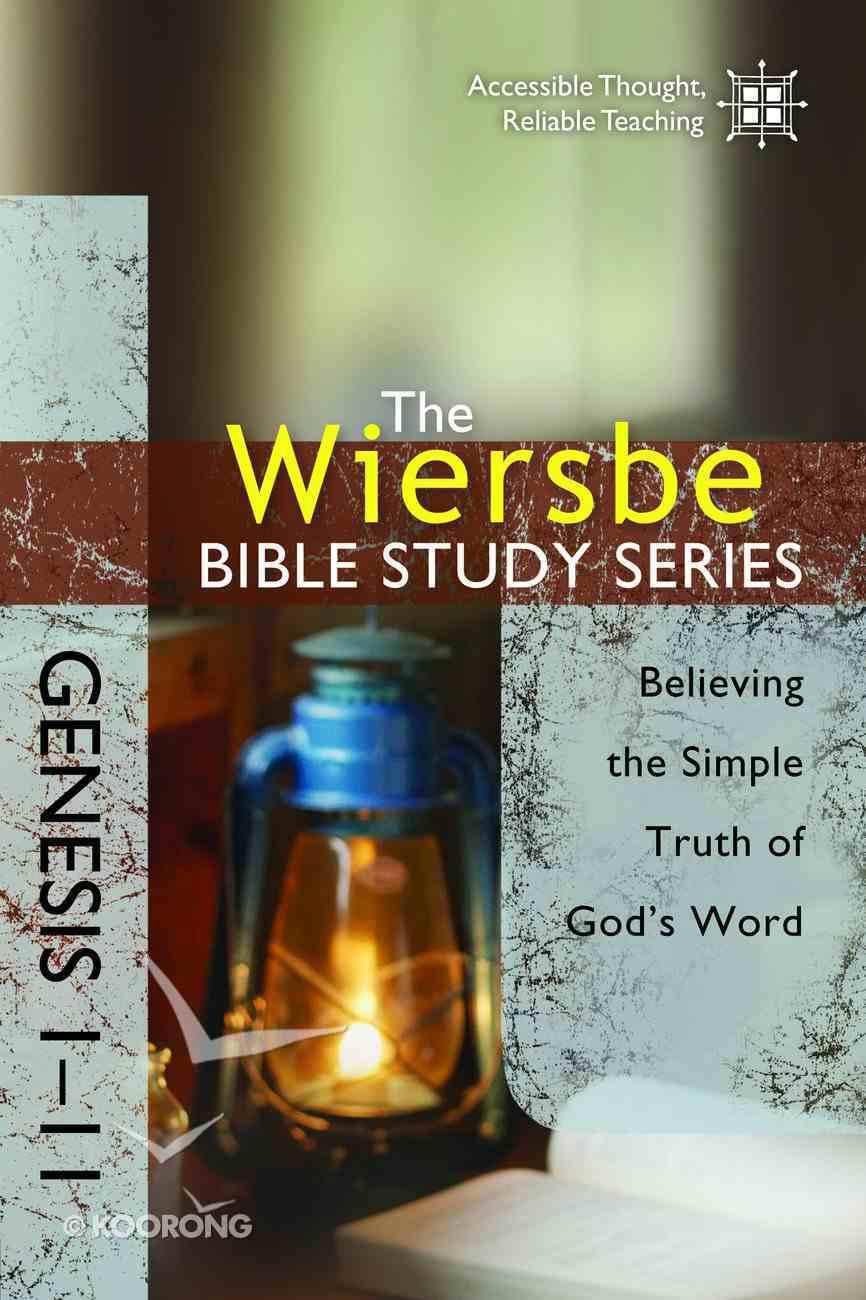 Be Basic (Genesis 1-11) (Be Series) eBook