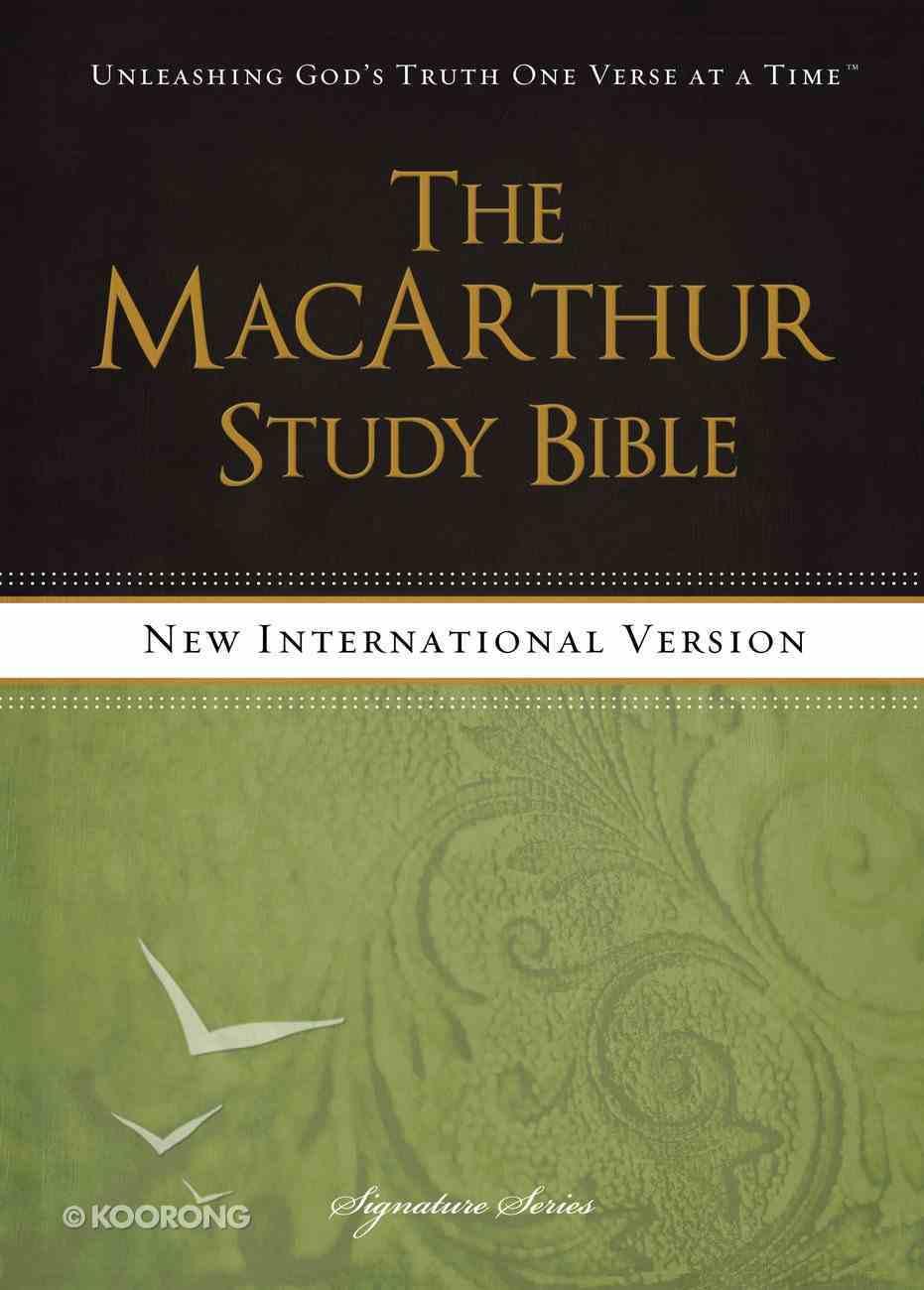 NIV Macarthur Study Bible Signature Series eBook
