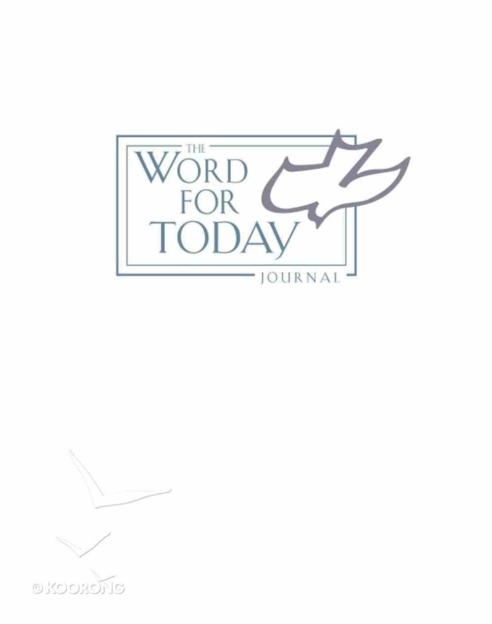 The Word For Today Journal Bonded Leather