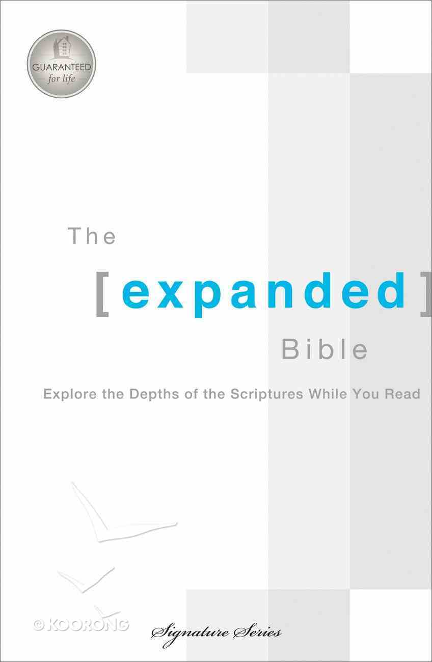 The Expanded Bible (Multi Colour) eBook