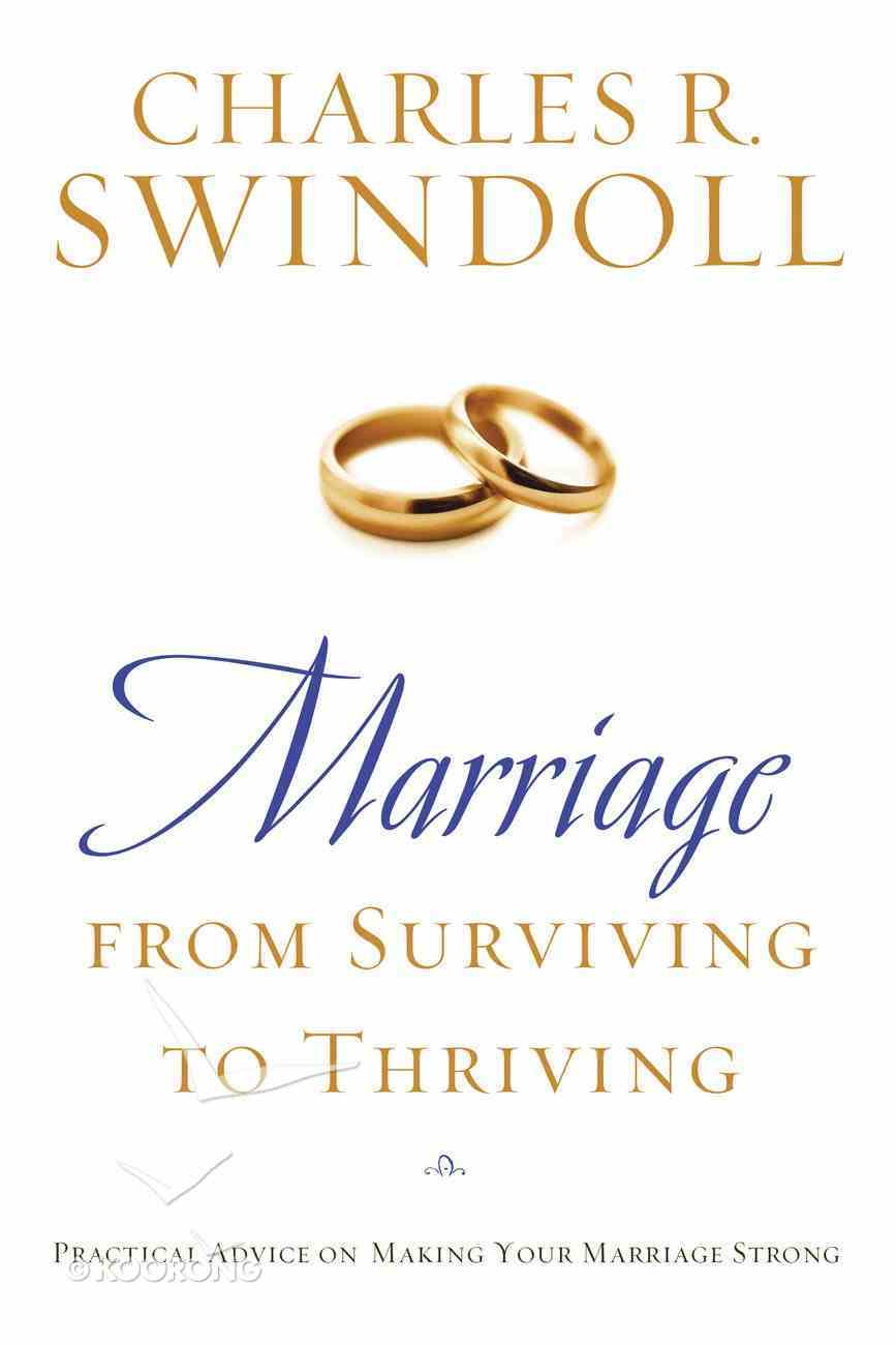 Marriage From Surviving to Thriving eBook