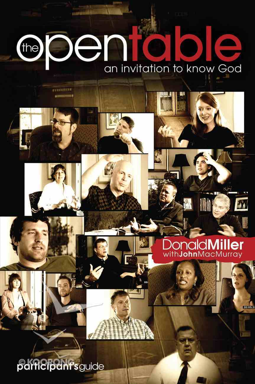 An Invitation to Know God (#01 in Open Table Series) eBook