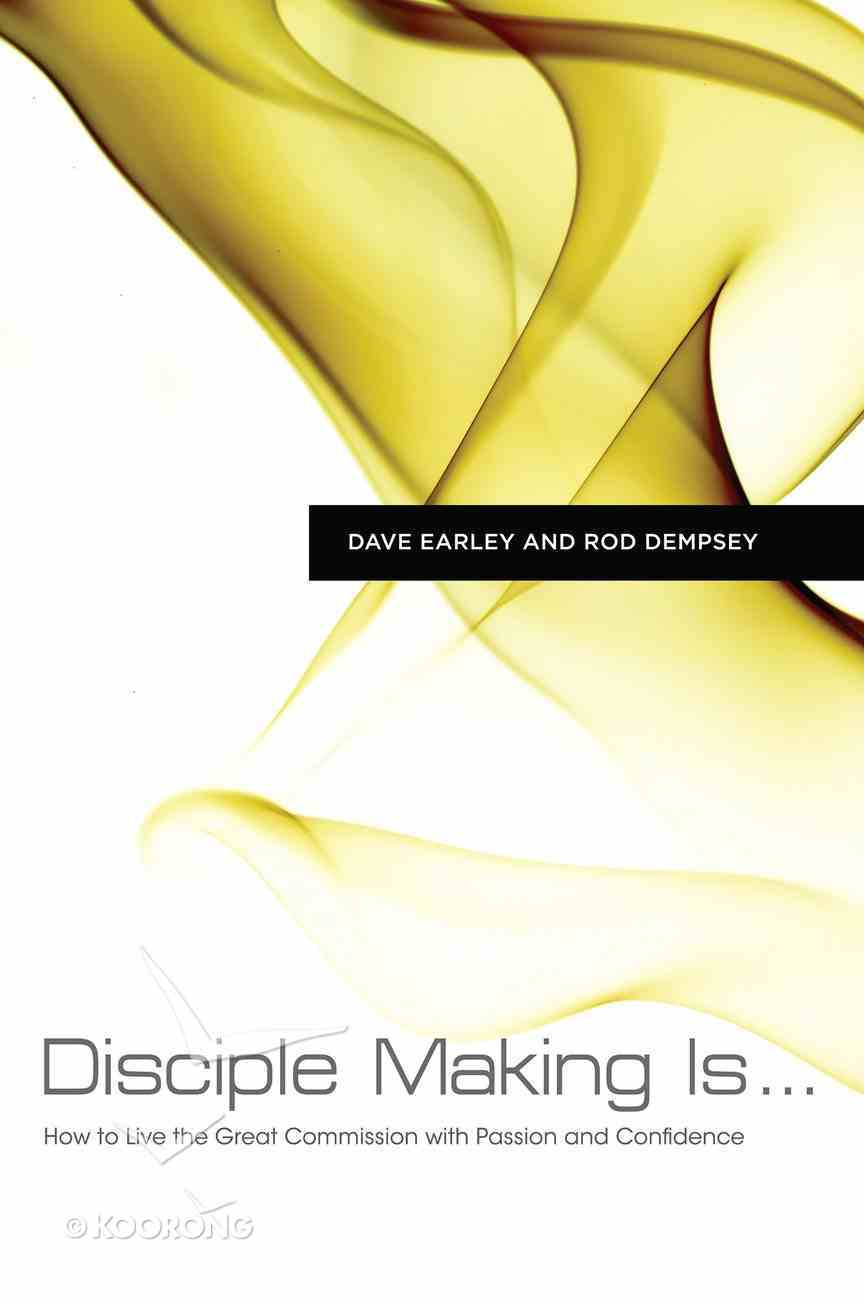 Disciple Making is . . . eBook